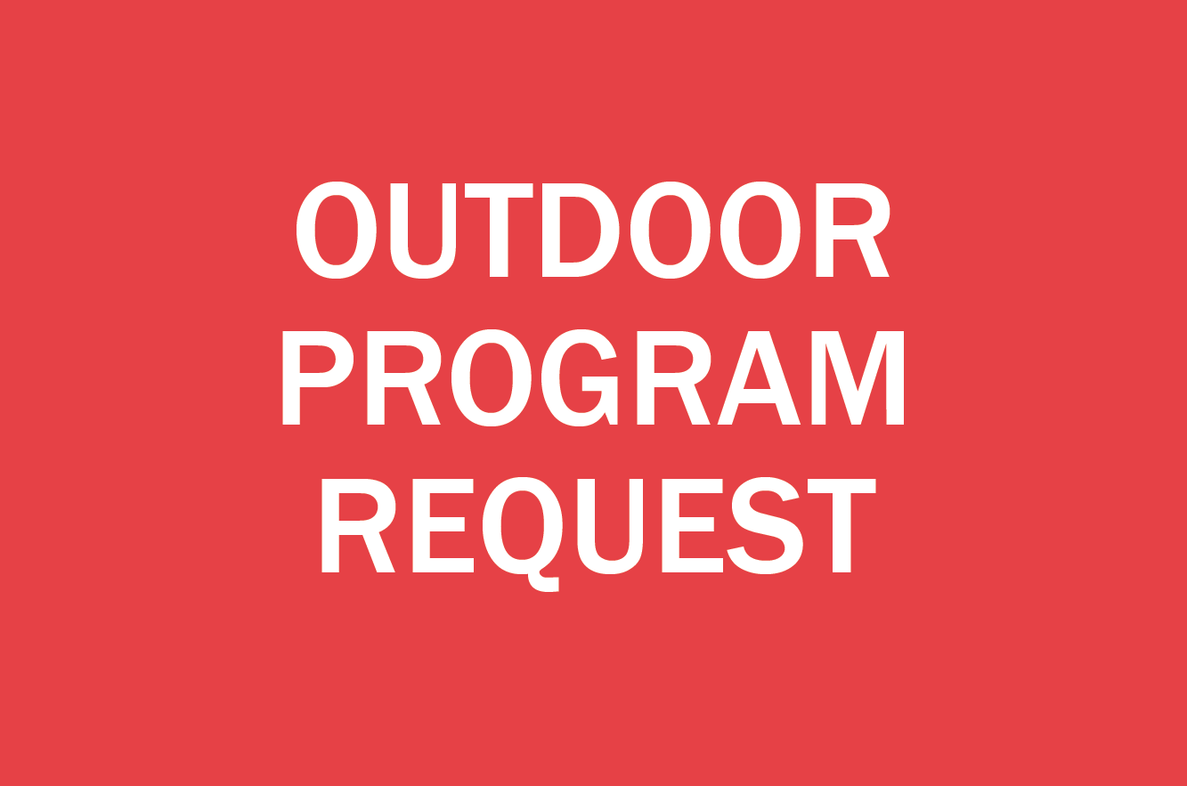 Outdoor Program Requests icon